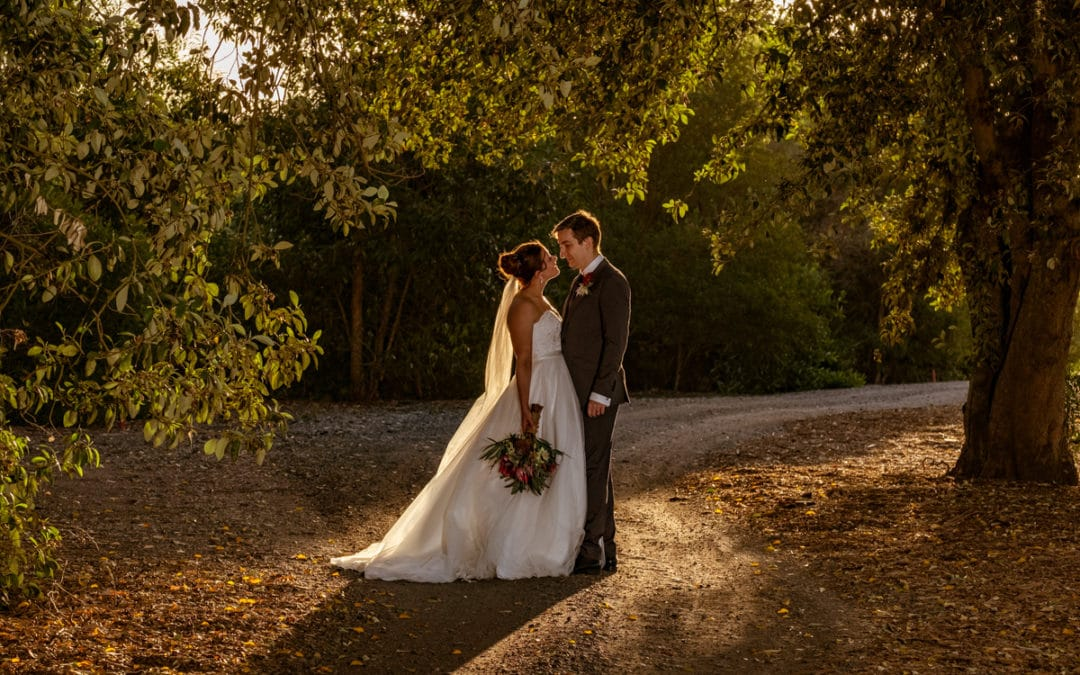 Caitlin and Geoffrey at Indooroopilly Golf Club