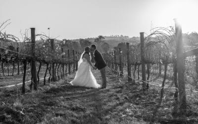 Melissa and Samuel at Albert River Winery